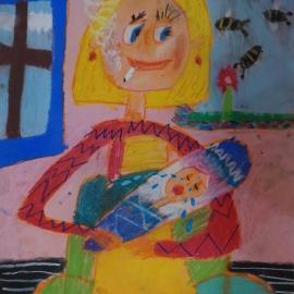 Celoslovenská súťaž 4. miesto Chiara – Zoe Lučanská, 8. rokov, ZUŠ, Mariánske námestie 2525 Trebišov