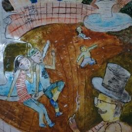 4. miesto Lucia G. , 12 rokov, art SLNEČNICE o.z. Narcisová 8, Bratislava, 821 01